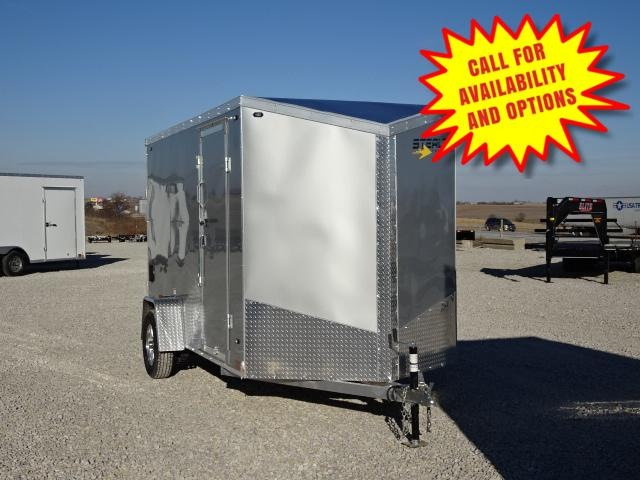 New Stealth Aluminum 6'x12' W / 6.5' Interior Height