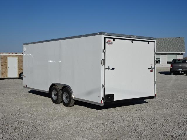 New Rock Solid 8.5'x24' Car Hauler 9990#