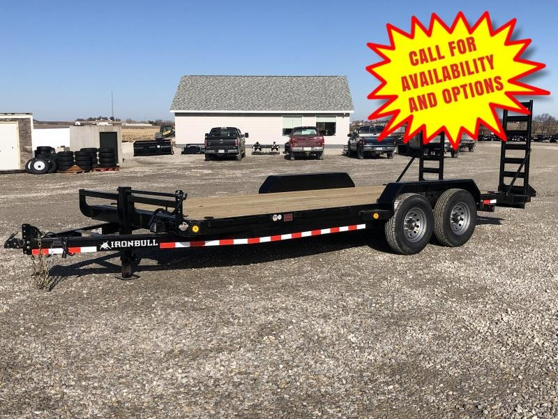 "New Ironbull 83""x20' Skid Loader Trailer 14000#"