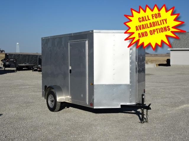 """New Rock Solid 6'x10' W/ Ramp & 6' 3"""" Interior Height"""