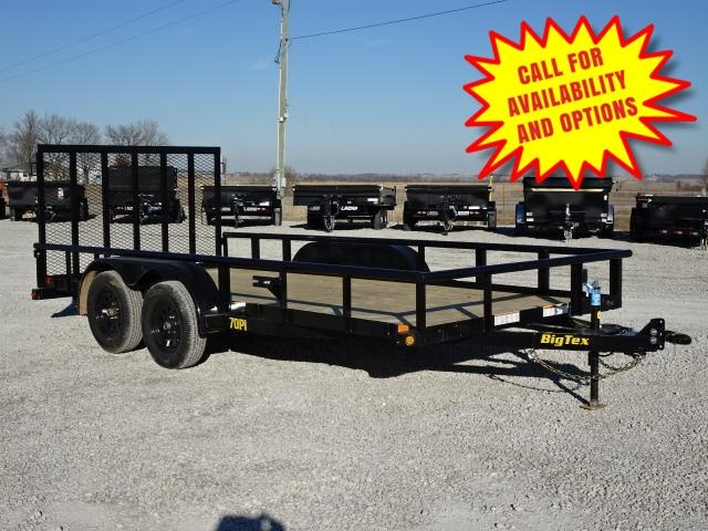 "New Big Tex 83""x16' W / 4' Spring Assist Gate 7000#"