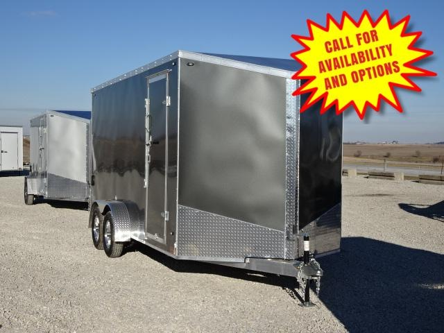 New Stealth Aluminum 7'x16' W / 7' Interior Height