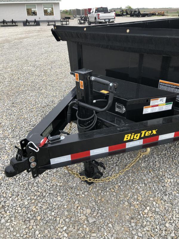 New Big Tex 16' Low Pro Dump 14000#