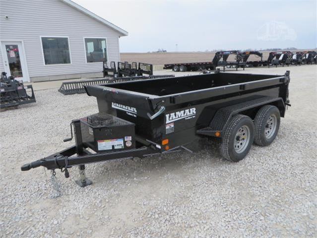New Lamar 5'x10' Dump 7000#