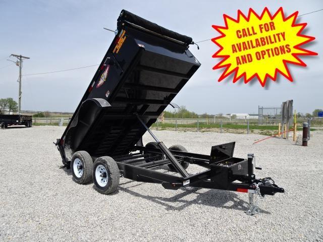 """New H&H 76""""x12' Dump 9990#"""