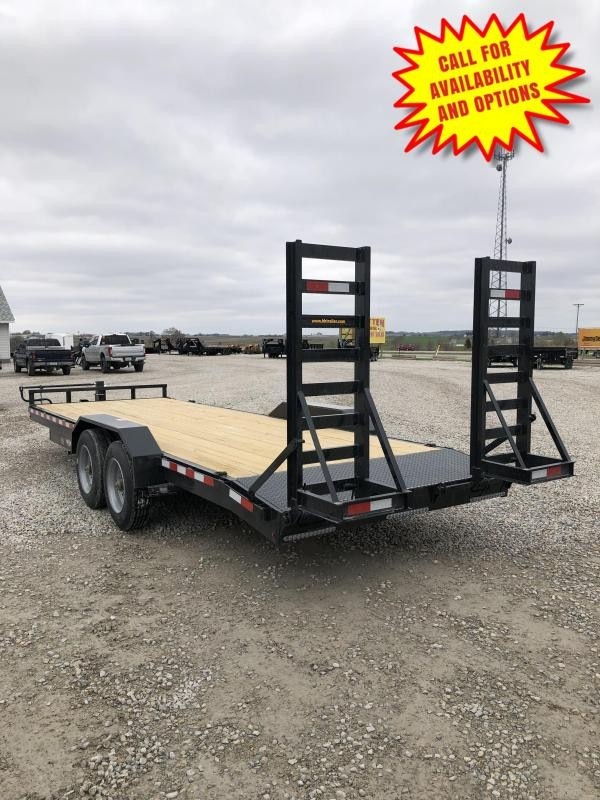 "New H&H 82""x22' (16000#) Skid Loader Trailer"