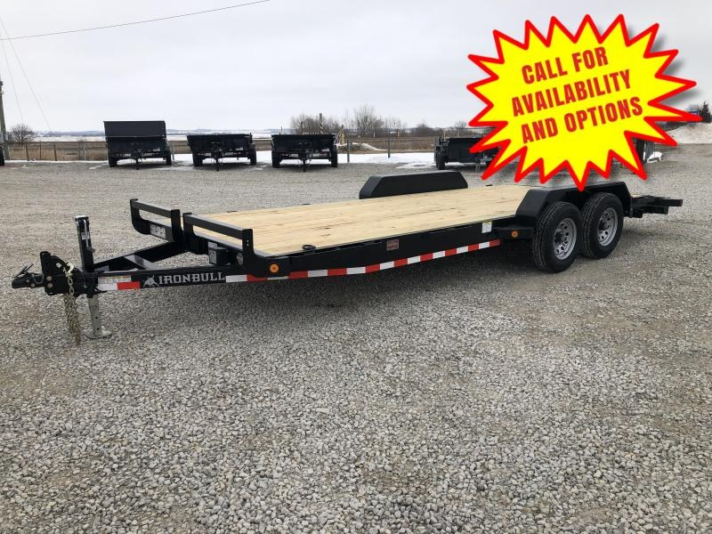 "New Ironbull 83""x20' Car Hauler 9990#"