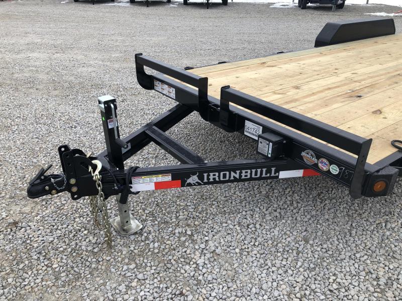 """New Ironbull 83""""x20' Car Hauler 9990#"""