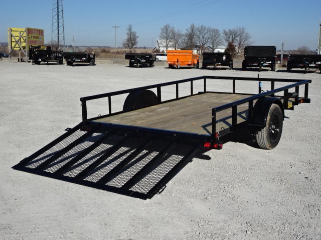 """New Big Tex 83""""x12' W / 4' Spring Assist Gate"""