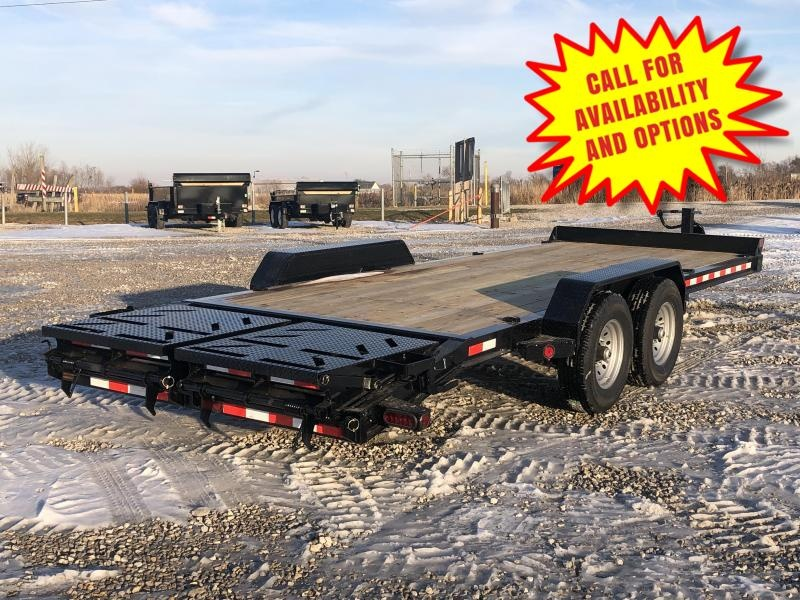 New 20' Skid Loader Trailer W / Rampage Ramps