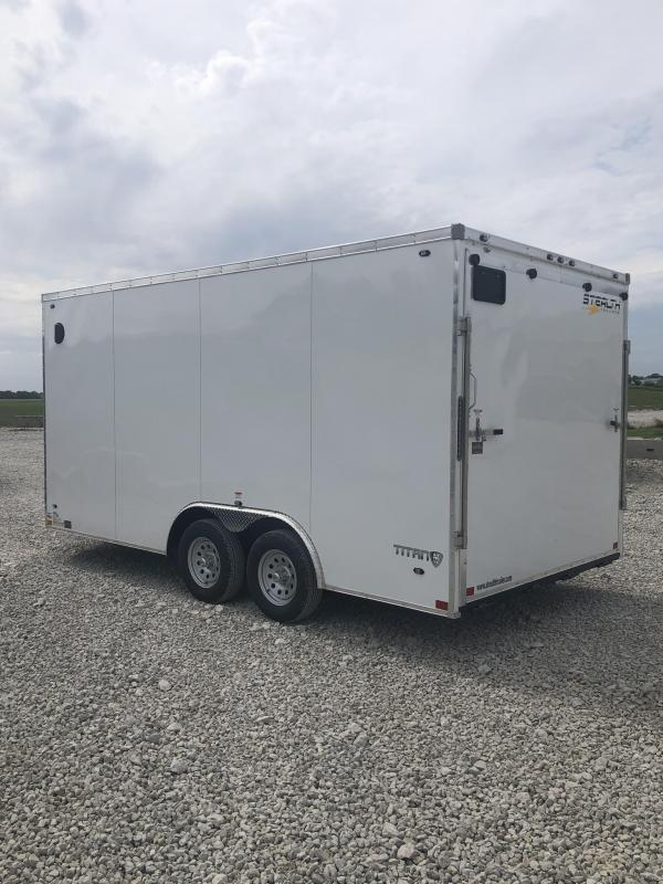 New Stealth 8.5'x16' W / 7' Interior