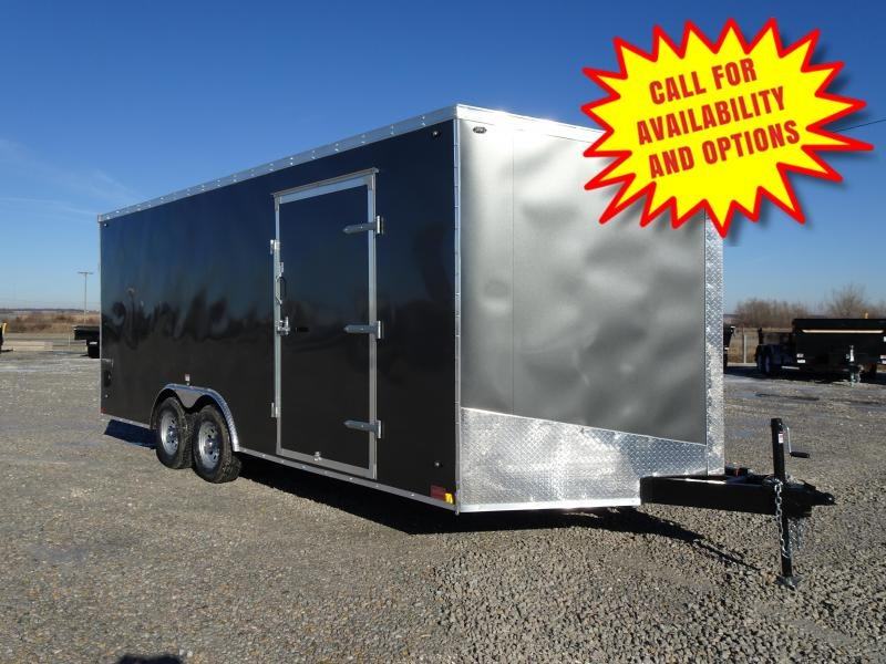 New Stealth 8.5'x20' W / 7' Interior Height 9990#