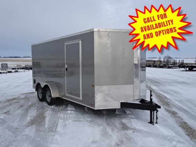 """New Rock Solid 7'x14' W / Ramp & 6'3"""" Interior Height"""