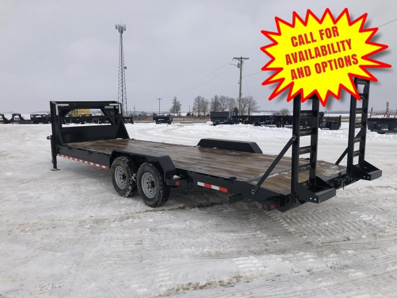 New Ironbull 24' Gooseneck 14000#