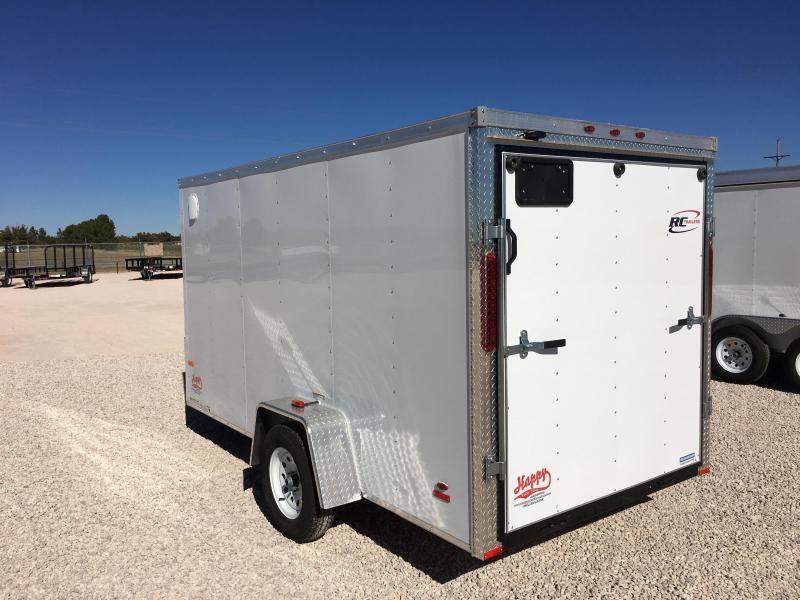 2017 RC Trailers RWT6X12 Enclosed Cargo Trailer | Happy ...  2017 RC Trailer...