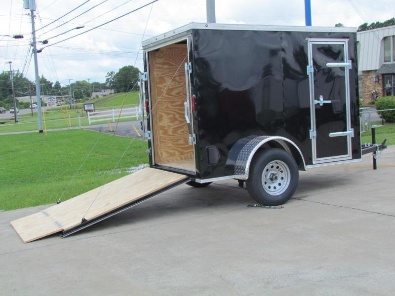 2019 Eagle Trailer 5x8 Enclosed Cargo Trailer