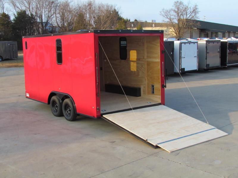 2020 Spartan 8.5x16TA Enclosed Cargo Trailer