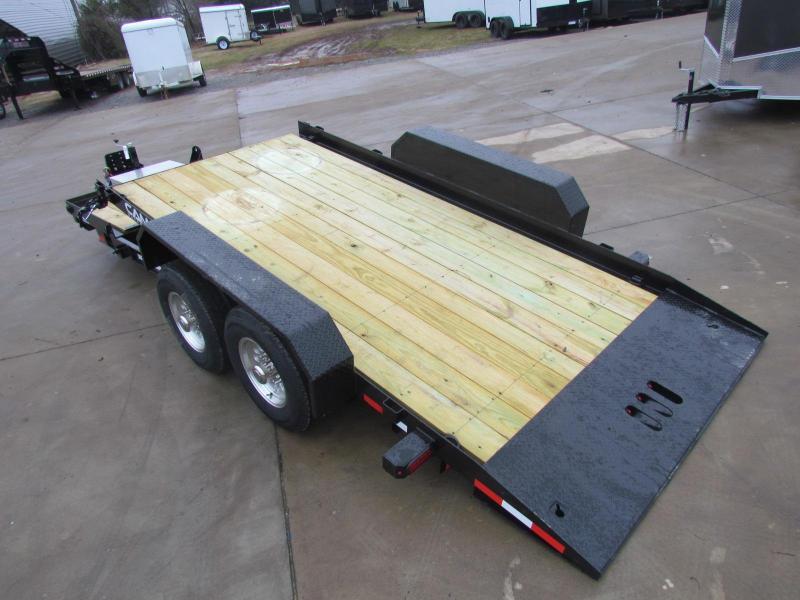 2020 Cam Superline 6Ton Split Deck Tilt Trailer 8.5x15+4 Equipment Trailer