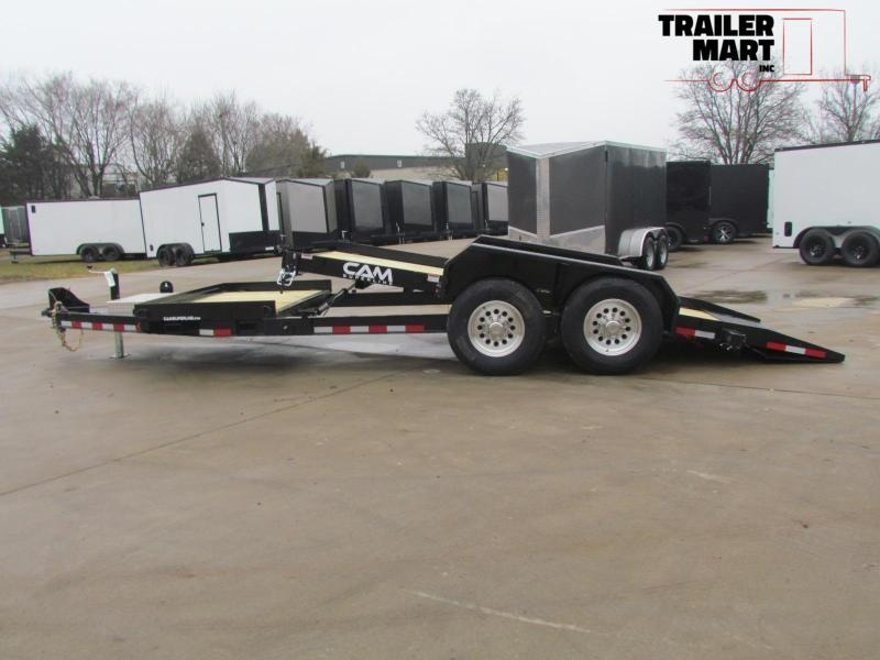 2020 Cam Superline 6Ton Split Deck Tilt Trailer 8.5x15+4 Equipment Trailer