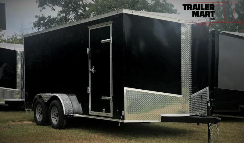 2020 Eagle 7X16 Enclosed  with .030 Screwless Exterior