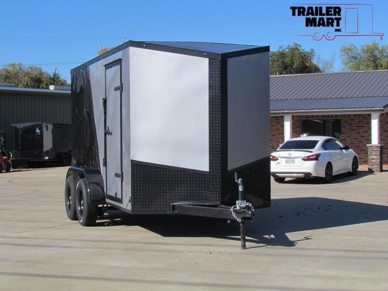 2020 Eagle 6X12 2-Tone Enclosed Cargo Trailer Tandem Axle