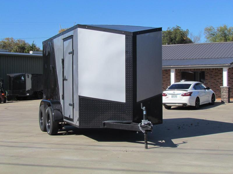 2020 Eagle 6X12 2-Tone Enclosed Cargo Trailer Tandem Axle