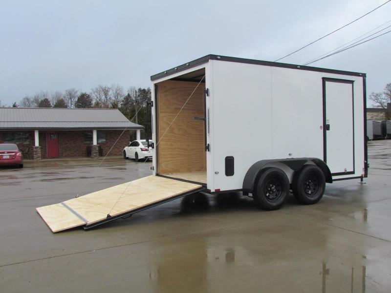 Car Lots Bowling Green Ky >> 2020 Spartan 7X12 Commercial Grade 3 in 1 Enclosed Trailer | TrailerMart in TN | Enclosed Cargo ...