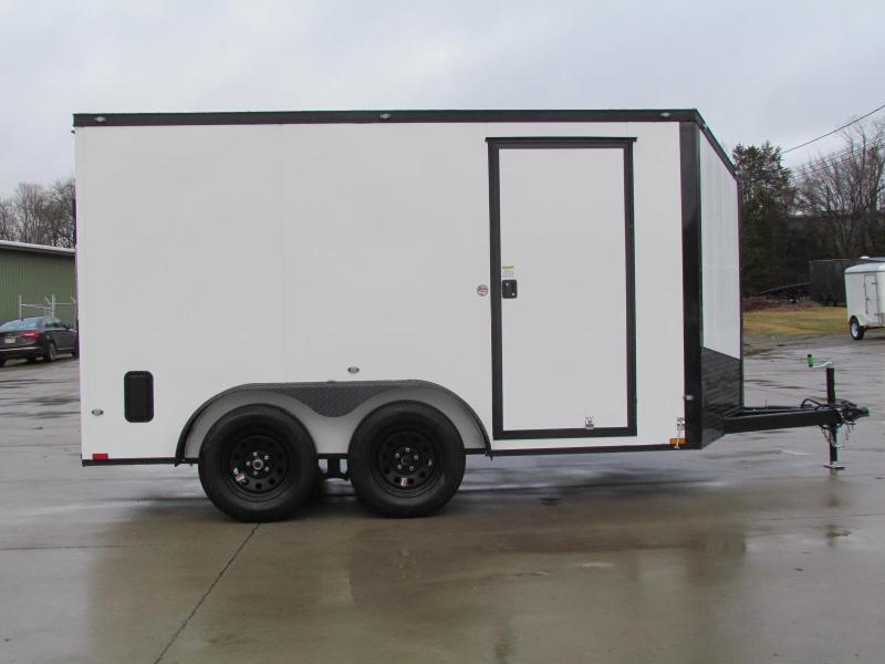 2020 Spartan 7X12 Commercial Grade 3 in 1 Enclosed Trailer