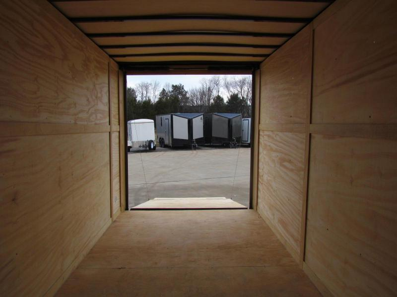 2020 NATIONCRAFT 7X16TA2 Enclosed Cargo Trailer