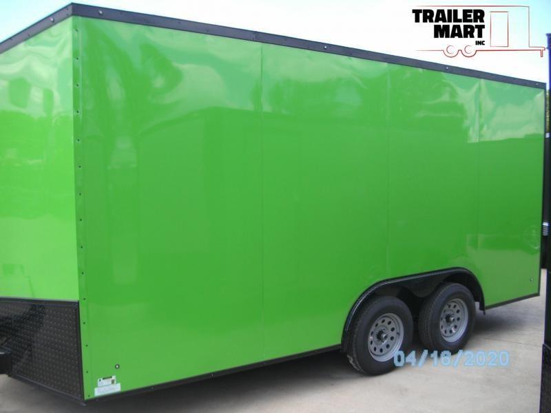 2020 Eagle Trailer 8.5x16 Cargo Trailer