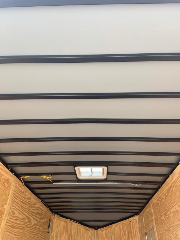 Spartan 7X16 SUPER HEAVY DUTY 7' TALL 9990 GVWR Double Rear Door Trailer