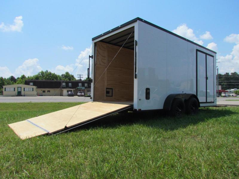 2020 Spartan 7x16TA3 Landscaping Plus Trailer Enclosed Cargo Trailer