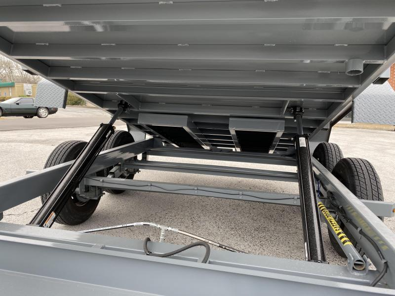 2020 Cam Superline Advantage 7X14 7 TON Gooseneck  Dump Trailer