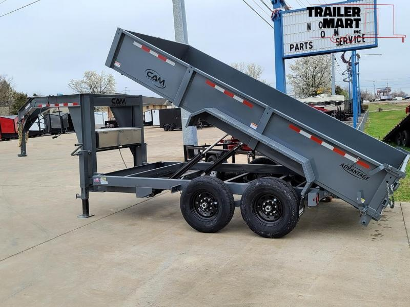 2020 Cam Superline Advantage 7X14 7 TON Gooseneck  Dump Trailer