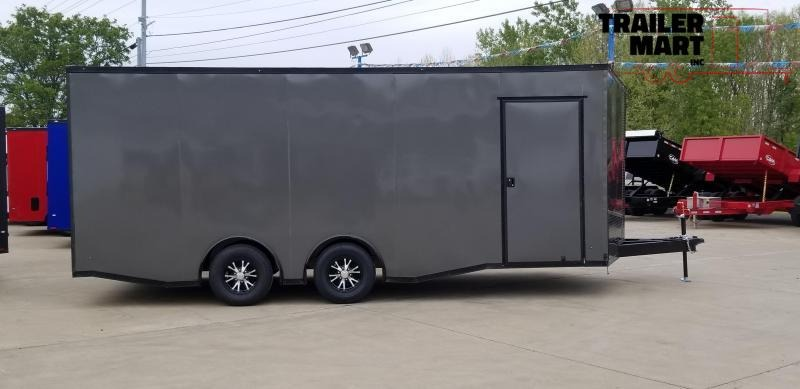 2020 Eagle Trailer 8.5x20TA 5200 lb Spread Axle Car / Racing Trailer