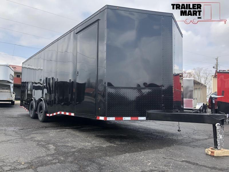 2020 Eagle Trailer 8.5x24TA3 5200 lb Spread Axle Car / Racing Trailer