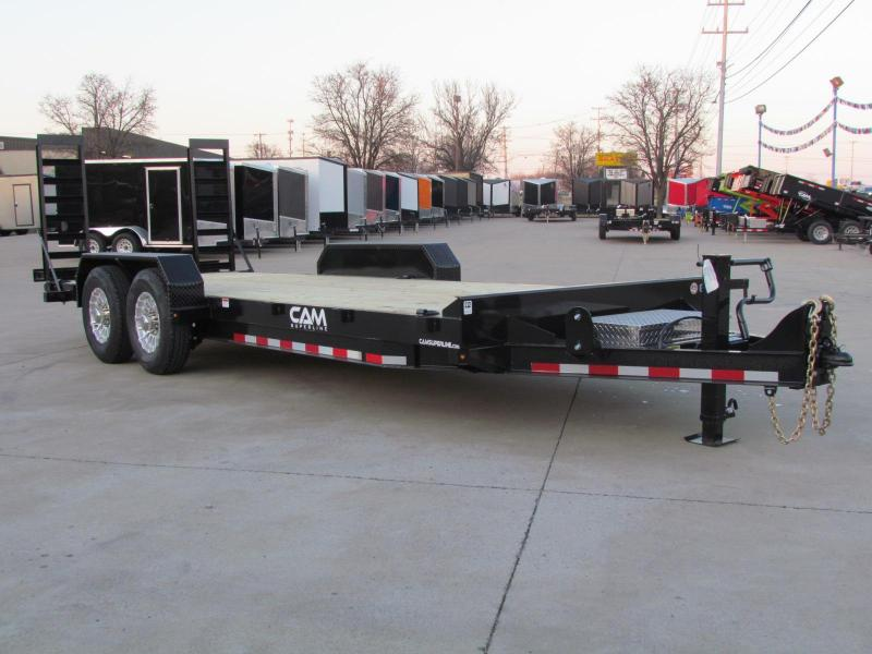 2020 Cam Superline 20' Channel Frame Flatbed Equipment Trailer - 7 Ton