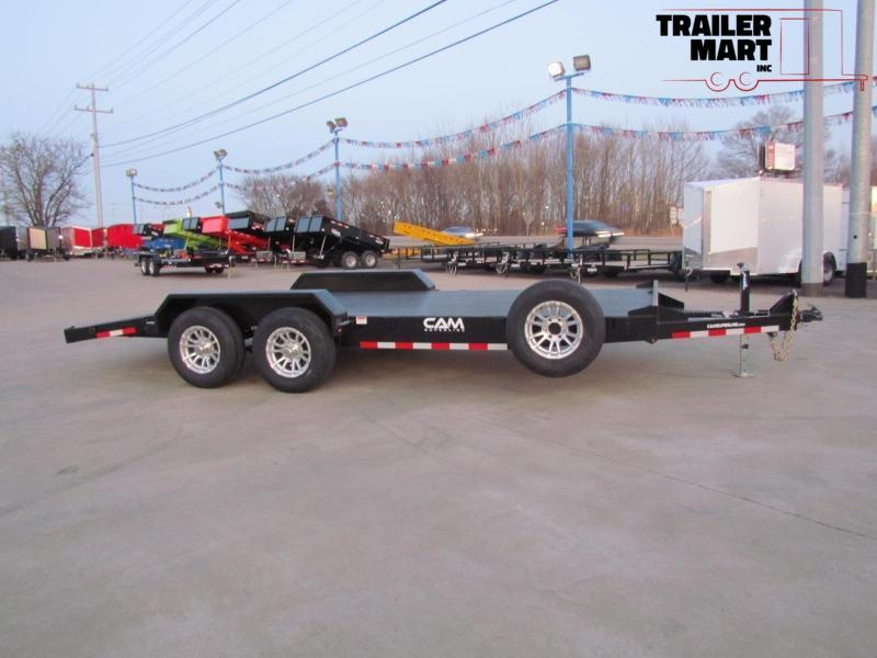 2020 Cam Superline 18' Car Hauler Flatbed Trailer - 5 Ton