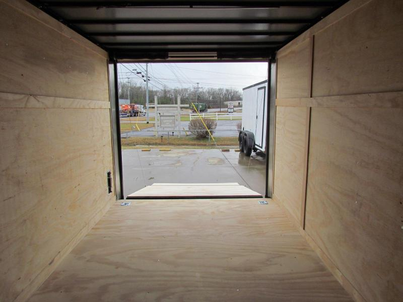 2020 Spartan 7X12 Commercial Grade 3 in 1 Enclosed Trailer