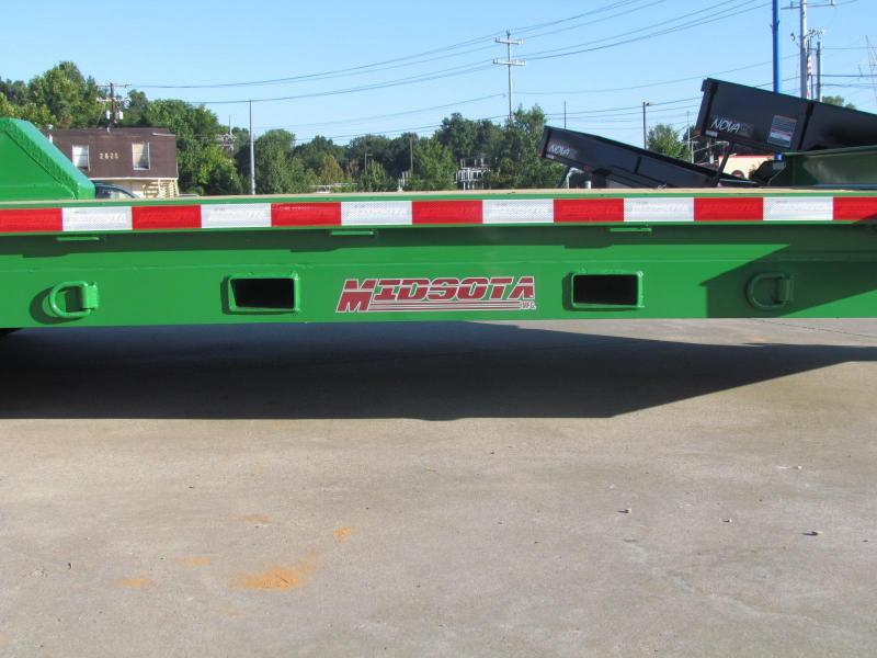 2020 Midsota ST-20 Tilt Deck Flat Bed Open Equipment Trailer
