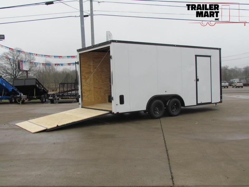 2020 Spartan 8.5x18TA Enclosed Cargo Trailer
