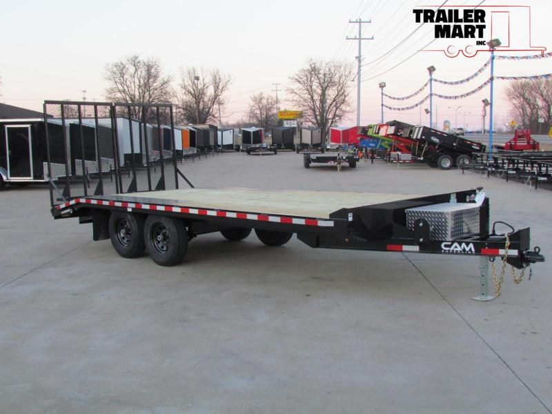 2020 Cam Superline 18' Light Duty Deckover Trailer - 5 Ton = Landscaper Special