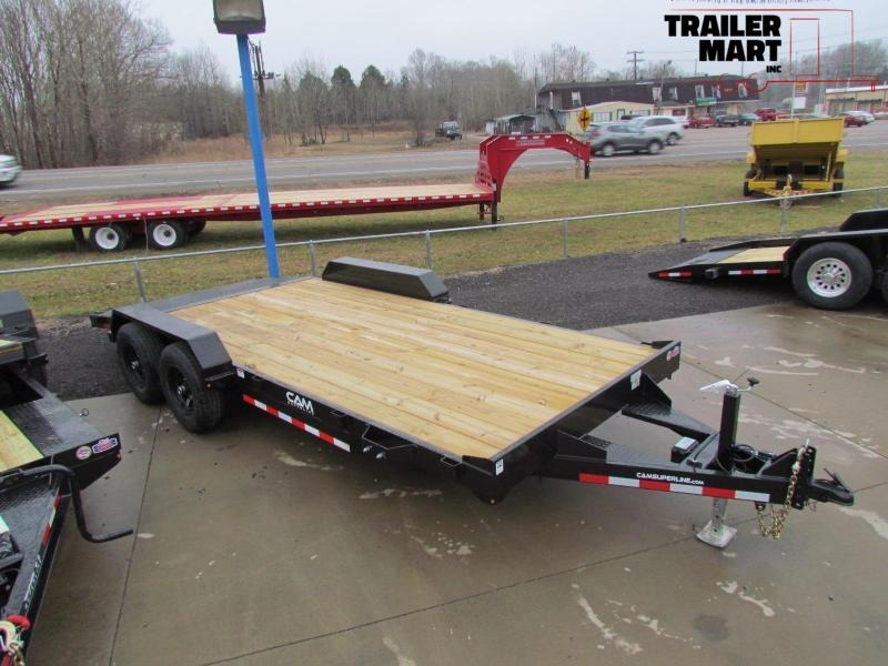 2020 Cam Superline 5 Ton Wood Deck Car Hauler Car / Racing Trailer