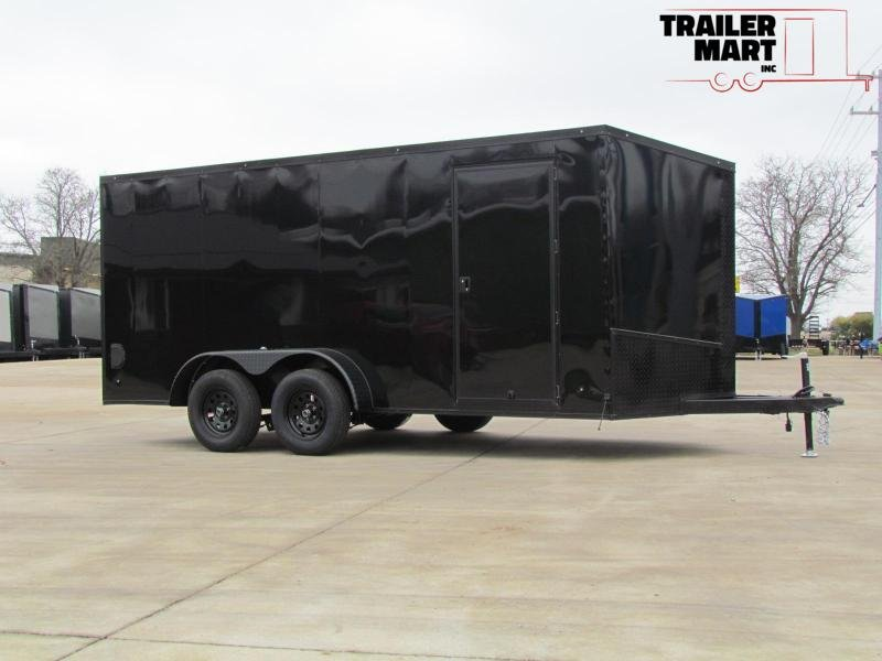 2020 Eagle 7X16 Enclosed Trailer