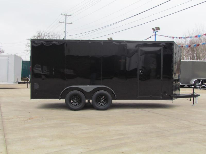 2020 Eagle 7X16 Enclosed Trailer