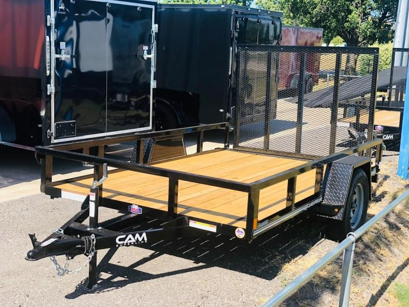 2019 Cam Superline 5x10SA Open Utility Trailer