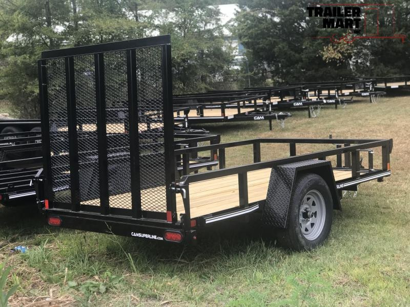 2019 Cam Superline 5x10SA Open Utility Trailer