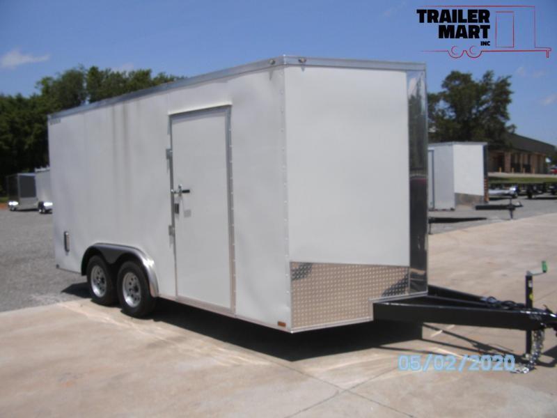 2020 Spartan 8x16TA Enclosed Cargo Trailer