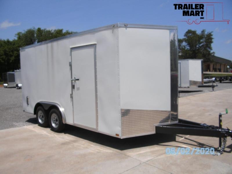 2020 Spartan 8x16TA Enclosed Cargo Trailer