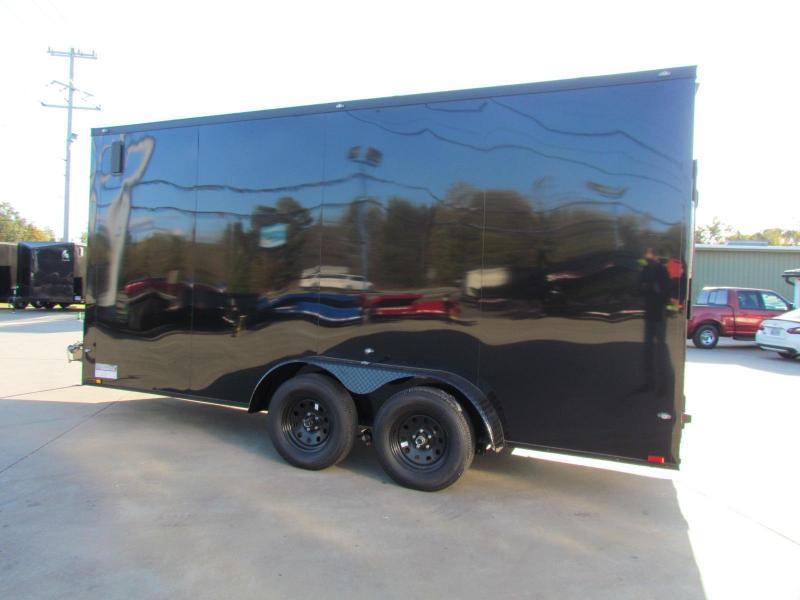 2020 Spartan 7X16 Commercial Grade 7' Tall 3 in 1 Enclosed Cargo Trailer